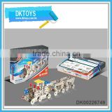 277pcs Educational metal DIY toys train type