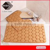 china factory direct sale microfiber memory foam bath mat