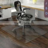 office chair plastic floor mat/polycarbonate sheet for chair mat/anti-slip rubber chair mat