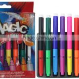 2016 hotselling magic color pen marker 8PK set