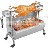 60kg 120cm Commercial Stainless Steel Charcoal Barbeque Pig Roaster