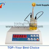 Auto Digital KF Water Content Analyzer/Quick Moisture Detector/Lubricant Oil Testing Equipment