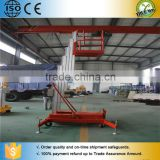 Electric sky model aluminum mast man lift crane