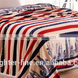 Custom printed Soft and Warm fashion Flannel Blanket