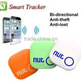 2015 Nut 2 SmartTag Bluetooth Tracker bag Key Finder Alarm Locator Multitasking management for Android 4 Colorsdroid 3 Colors