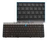 Gaming Keyboard Laptop Electronic Computer Keyboard for HP Compaq Presario CQ62 G62 Black