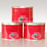 Made in china OEM ODM ketchup export Saudi Arabia Canned Beads In Tomato Sauce 425g 227g Beads In Tomato Paste