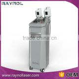 Skin Tightening Raynol 2 Handpieces New Vertical Cryolipolysis Cool Shaping Machine Double Chin Removal