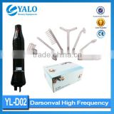 Wholesale YL-D02 d arsonval facial high frequency with neon electrodes