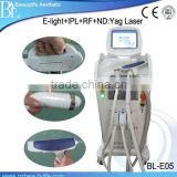 E-light Yag Laser Rf Hair Removal Ipl/Nd Yag Skin Care Laser Multifunctional E-light (ipl+rf) Beauty Apparatus Redness Removal