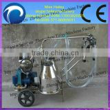 hot sale farm hand operated cow milking machine for sale
