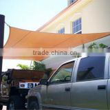 HDPE car park sun shade sail/ shade sail carport/ shade net(ISO9001-2008 factory)