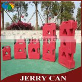 Rotomolded 2017 new plastic 20 liter jerry can with jerry can holder