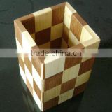 bamboo pencil holder, custom desktop organizers wholesale