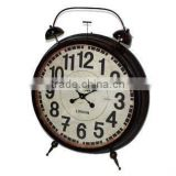 2014 New Design Metal Retro Clock