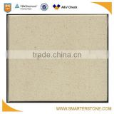 Best selling beige color artificial quartz in jumbo sizes