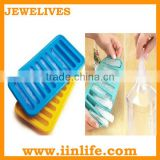 Silicone ice bottle stick, stick ice cube tray
