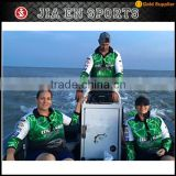 Wholesale 100% polyester uv protection custom fishing design printed fishing gear