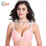 HSZ-MD091 Ladies Stylish Full Size Bra Sexy Photos Hot Women Comfortable Print Nursing Bra Wholesale 2017 Beautiful Lingeries
