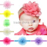 South Korea yarn baby hair headbands with Euramerican children's hair accessories wholesale 8 color optional source of foreign t