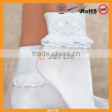 fashion cotton anklet women socks with mesh knit design wsp-36
