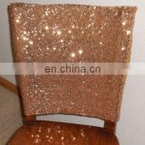 Banquet Charming Style Shiny Sequin Chair Band