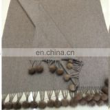Top Grade Winter Women Super Soft and Warm 100% Pure Cashmere Scarf Wrap Shawl Fringed Scarf
