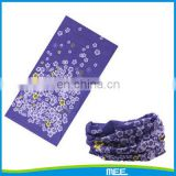 printed winding wrist bandana seamless neck warmer scarf