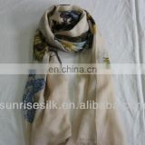 printed cashmere scarf, fashion scarf,shawl