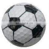 Golf soccer type ball