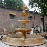 Marble/Granite Fountain Villa/Garden Decoration Animal Sculpture Natural Stone Fountain