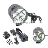 2 in 1 Grey Bike Light and Headlamp for Hunting Riding