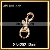 China custom woven logo dog pet leashes snap hook