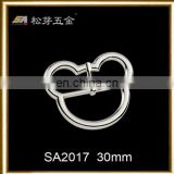 High quality mickey shape adjustable pin decorative buckles
