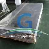 PVC foam sheet with PE film on one surface