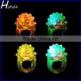 Wholesale Party Supply Flashing Led Bumpy Ring SL013