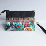 colorful pu leather small multi used lady handbag bag