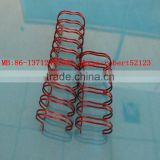 NanBo Calendar&Book Binding material Double Wire Metal Spiral