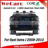 Wecaro WC-OU7882 Android 4.4.4 car stereo 2 din for opel astra j 3g dvd gps radio stereo mirror link 2008-2013
