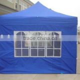 3x3 hexagon steel frame church window and door folding tent canopy gazebo                                                                         Quality Choice