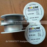300M light grey nylon monofilament fishing line 100% made in Germany best quality in the price range