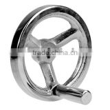 chrome plated hand wheels