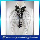 Hot selling fashion body chain harness necklace rhinestone body jewelry B0009                                                                         Quality Choice