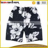 Men swimming trunks fancy flower printing mens swim trunks                                                                                                         Supplier's Choice