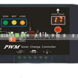 220v pwm dc motor controller dc input 12v 24v, CAP mini solar charge controller programmable with led display for public light