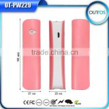 2015 Mulit-Colors 2600mAh Power Bank lipstic Power Bank for all Smartphone, Tablet PC