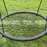 DKS New Design Children Outdoor Nest Swing, metal tube rope swing                                                                         Quality Choice