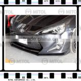 Front Bumper Lip ST Style For Toyota GT86/Scion FR-S Body kits