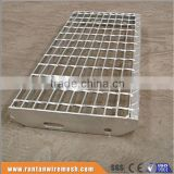 Hot dipped galvanized serrated or plain platform steel grating raised floor (Trade Assurance)