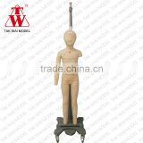 Hot sale for fitting room girl full body fiberglass adjustable tailor mannequin